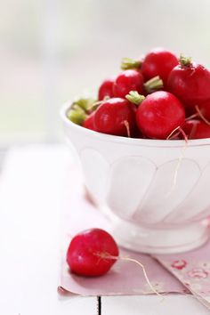 Bring a healthy Red, Radish are refreshing  frenchSUNSET stye with a bit of butter and a pinch of salt