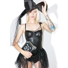 Sexy Witch Costume ($26) ❤ liked on Polyvore featuring costumes, sexy witch halloween costume, salem witch costume, sexy costumes, witch halloween costumes and starline