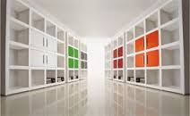 Afbeeldingsresultaat voor moderne kastenwand woonkamer