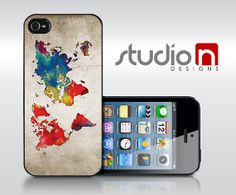 Colors of the World  iPhone 5 5C or 5S Case