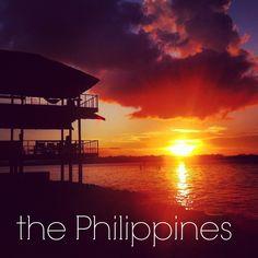 Sunset in #Siargao, #Philippines