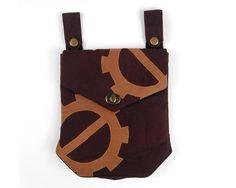 Steampunk Belt Pouch w/ Gusset | Craftsy
