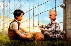"""""""A infância é medida por sons, aromas e visões, antes que o tempo obscuro da razão se expanda."""" Do filme: """"O menino do pijama listrado"""" - Personagens: Bruno (Asa Butterfield) e Shmuel (Jack Scanlon)"""