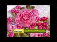 Arte Brasil Flor Camélia Dupla Zilda Mateus - YouTube