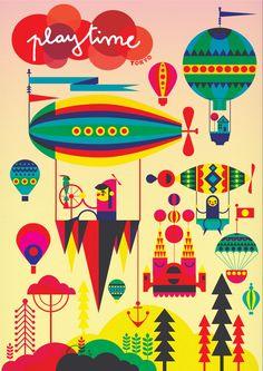 circus tent children's illustration - Google Search