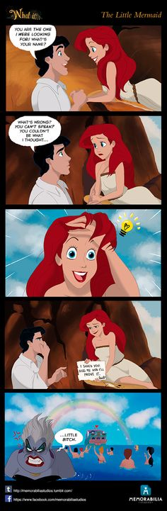 What If...Episode 2: The Little Mermaid by Memorabilia Studios. Don't miss our Facebook page and our Tumblr blog! :D