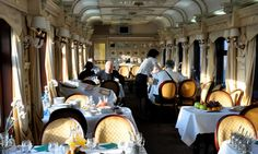 Trans-Siberian Railway Train Dining Carriage