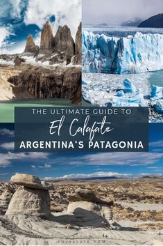 21 Things to do in El Calafate, Argentina: The Ultimate Guide Top Things to do in El Calafate Argentina Patagonia. what to do in El Calafate Hikes in El Calafate, [& Ushuaia, South America Destinations, South America Travel, Travel Destinations, Travel Tips, Travel Guides, Patagonia Travel, In Patagonia, Visit Argentina