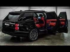 Black Exterior, Interior And Exterior, Range Rover Black, Black Audi, Benz G Class, Range Rover Evoque, Luxury Cars, Super Cars, Trucks