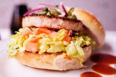 Rice chili burger au poisson par Thierry Marx pour le défi  « Je Déj, Je Donne » d'Action Contre la Faim #recette #solidarité