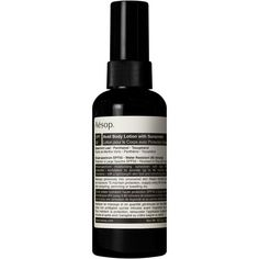 Aesop 'Avail' Body Lotion With Sunscreen (536.280 IDR) ❤ liked on Polyvore featuring beauty products, bath & body products, none and aesop