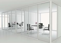 SAPPHIRE 8'H   Modular Office floor to ceiling Glass Panel