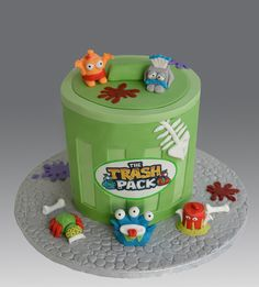 The Trash Pack Cake by Gellyscakes, via Flickr