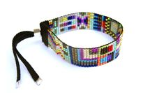 handwoven beaded cuffs {objects of desire} « plenty of colour