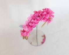 bridal / headpiece / missdiademas.com /tocado/ novias / wedding / floral crown / corona de flores / invitada / boda