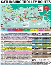 Gatlinburg Trolley Routes ~ www.vrbo.com/558850 or http://www.facebook.com/MyGrandviewCabin or MyGatlinburgCabin.com