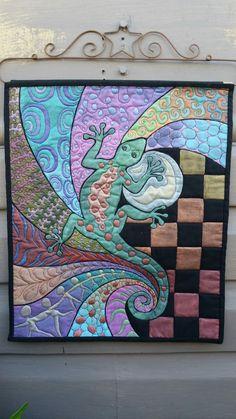 Helen Godden - one of my most favourite quilt artists!!