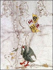 RICHARD NEVILLE, EARL OF WARWICK, called the king-maker, was the eldest son of Richard Neville, Earl of Salisbury & Alice only child & heiress of Thomas, the last Montacute Earl of Salisbury. Born on 11/22/1428, & whilst still a boy betrothed to Anne, daughter of Richard Beauchamp, Earl of Warwick. Anne as the heir of the whole blood, brought her husband the title & chief share of the Warwick estates. Richard Neville became the premier earl in power and position.