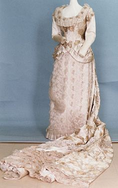 1882 wedding dress