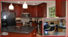 Best 25 Best Kitchens Before And After Images Kitchen Remodel 400 x 300