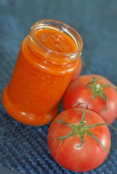 Taste me: Sos pomidorowy na zimę