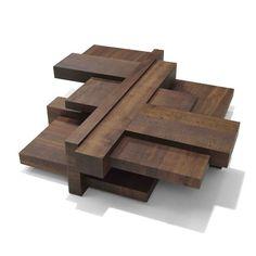 Linteloo Manhattan Coffee Table, 131,5 x 142 cm, hoogte 33 cm