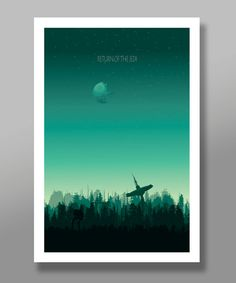Force Inspired Star Wars Inspirited Minimalist by BigTimePosters