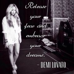 Demi Lovato quote from Staying Strong