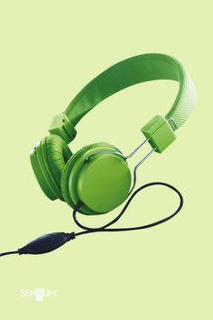 Gadżety Reklamowe Sensum Art Over Ear Headphones, Headset, Headphones, Headpieces, Hockey Helmet, Ear Phones