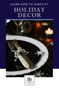 Get these tips on easy holiday decor for busy moms who want to get organized for the holidays.  Whether you're celebrating Christmas or Hanukkah, these simple holiday decorating tips will make holiday decorating as easy as 1, 2, 3.  #christmasdecor #holidaydecor #hanukkahdecor #holidaydecorations Christmas Dishes, Christmas Baking, Christmas Table Settings, Christmas Decorations, Holiday Decorating, Decorating Tips, Santa Mugs, Last Minute Christmas Gifts, Everyday Dishes