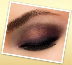 lovely deep plum eye