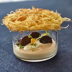 "3,722 Likes, 33 Comments - Gourmet heaven (@simplistic_food) on Instagram: ""| Chestnut, greek yogurt, truffle & potato | By @lappartnyc"""