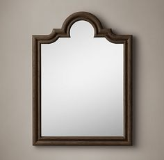 Levico Mirror - Brown