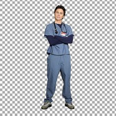 Scrubs  A pack of cut out from the TV series Scrubs