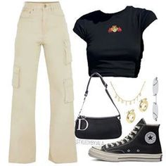 everyday outfits for school . everyday outfits for moms . Teen Fashion Outfits, Retro Outfits, Cute Casual Outfits, Look Fashion, Daily Fashion, Fashion Models, Vintage Outfits, Girl Outfits, Fashion Tips