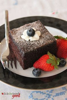 Cinnamon Sugar Cocoa Cake adapted from Hawaii's Best Local Desserts via Food Librarian