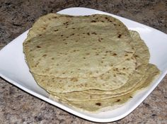 Home Made Spelt Tortillas Recipe #FastMetabolismDiet