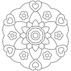 Mandalas bring relaxation and comfort to adults all over the world. Mandalas are one of our favorite things to color. Kids can color them too! We have some more simple mandalas for kids to color. Mandalas for Kids Mandala Design, Mandala Art, Mandalas Painting, Mandalas Drawing, Mandala Coloring Pages, Zentangles, Flower Mandala, Coloring Pages For Girls, Animal Coloring Pages