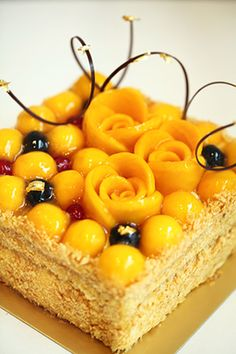 Pâtisserie Tony Wong: Home Sweet Desserts, Just Desserts, Sweet Recipes, Delicious Desserts, Cake Recipes, Dessert Recipes, Patisserie Fine, Mango Cake, Just Cakes