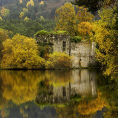 The Castle in the Loch by saxman1597 on Flickr.