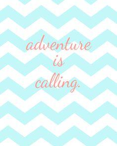 free chevron printable #adventure