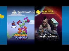 PlayStation Plus Free Games Lineup August 2016 New Games For Ps4, Xbox One Games, Gamer News, Pc Gamer, Xbox News, Plus Games, Free Games, Games On Youtube, Video Games