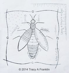 Tracy A Franklin - specialist embroiderer - No.2 - Stitches
