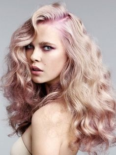 I've decided I'm going to do this to my hair this year. It's something I haven't done before and I really want to try it out. The whole blonde and lavender thing seems pretty cool!