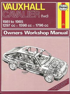 (812) Vauxhall Cavalier fwd 1981 - 1985