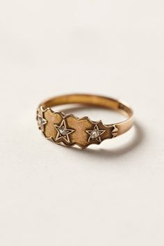 Western Gypsy Diamond Ring  Oki i guess it does look a little pagan, but stars are really just stars, and pentacles are not pentagrams.  There are so many symbols with MUCH worse meaning than the drawing of a 5-pointed star, ne?