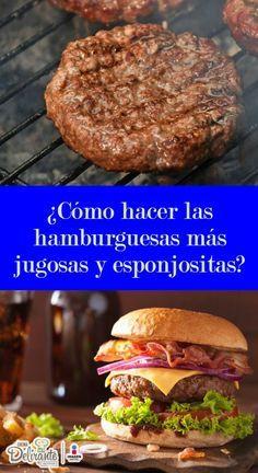 Cómo hacer hamburguesas caseras jugosas | CocinaDelirante