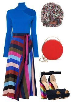 """""""Untitled #2837"""" by moxieremon on Polyvore featuring Missoni Mare, Charlotte Olympia, Dion Lee, Diane Von Furstenberg and 3.1 Phillip Lim"""