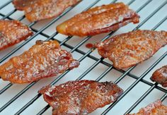 Candied bacon is the best of sweet and salty with a kick!