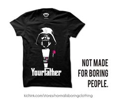 YOUR FATHER COMPRA AQUÍ  buff.ly/2kB9wfm  Playera $199.00  Envíos a todo México  #starwars #kichink #normalisboring #tshirt #clothes #cloting #madeinmexico #darthvader